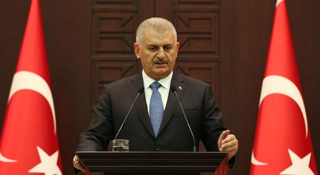 """Başbakan Yıldırıma """"İzmir Şehrine Katkı Ödülü"""""""