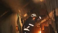 İstanbulda eğlence mekanında yangın