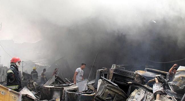 Bağdatta patlama: 2 ölü, 12 yaralı