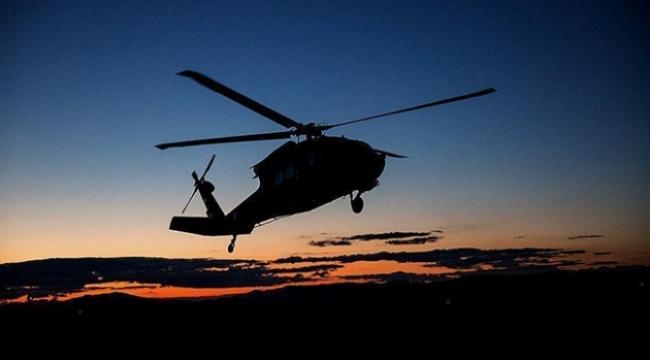 Yunanistanda helikopter düştü: 2 ölü, 1 yaralı