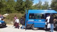 Edirnede 64 kaçak yakalandı