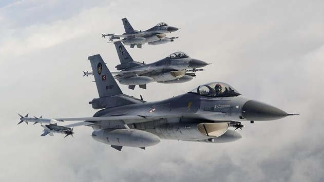 Kuzey Iraka hava harekatı: 12 hedef vuruldu
