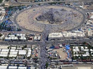 Arafat'ın havadan görüntüleri