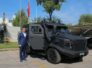 Terörle mücadeleye nanoteknolojik zırhlı araç desteği