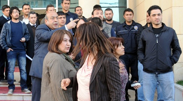BDPli Hasip Kaplandan Polise Küfür