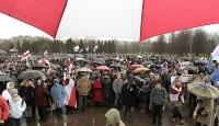 Belarus'ta Hükümet Karşıtı Gösteri