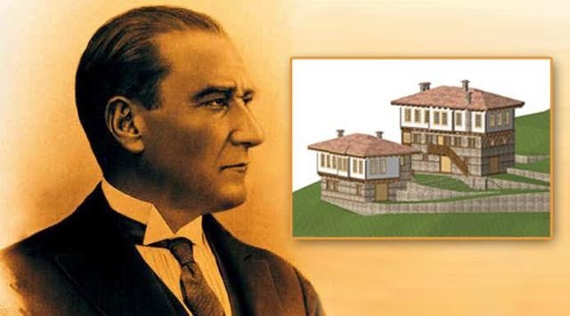 Atatürkün Baba Ocağı Yeniden İnşa Ediliyor