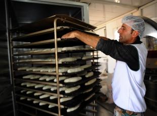 Cerablus'un ekmeği Türkiye'den