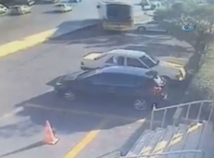 Ümraniye'de otobüs dehşeti