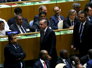 Erdoğan BM Genel Kurulu'nda