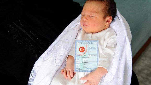 Kahraman şehit Halisdemirin ismi 251 bebeğe verildi