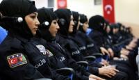 Afgan kadın polis adaylarına Sivasta eğitim