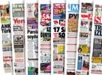 Gazete manşetleri…