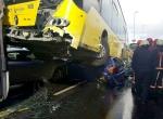 Metrobüs dehşet saçtı