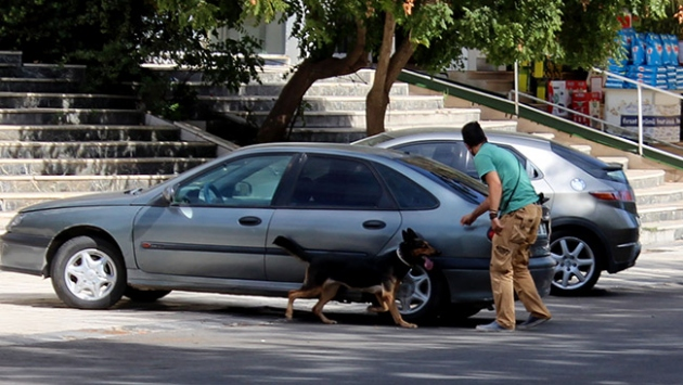Diyarbakırda şüpheli araç paniği