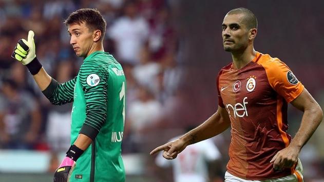 Galatasarayın derbi kozları Muslera ve Derdiyok