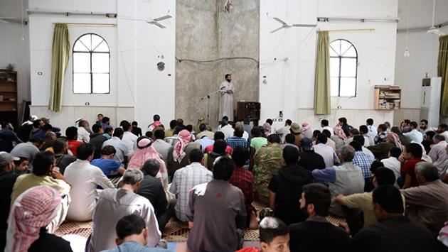 Cerablus camilerinde cuma yoğunluğu yaşandı