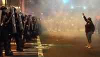 ABDdeki polis şiddeti cep telefonu kamerasında