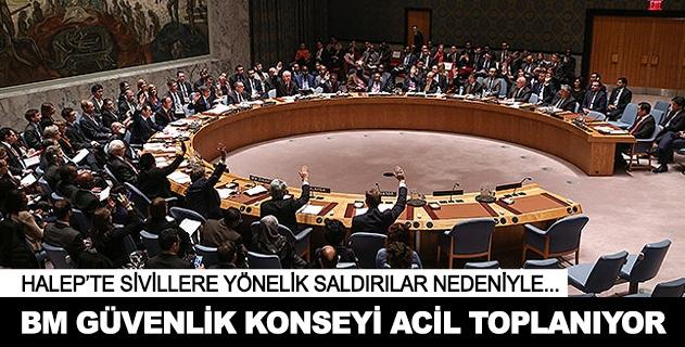 BM Güvenlik Konseyinden acil toplanma kararı
