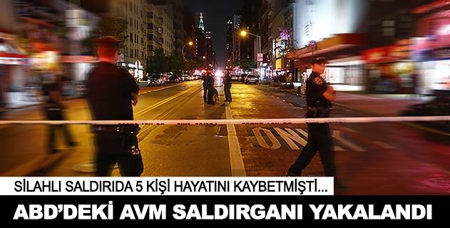 ABDde 5 kişiyi öldüren saldırgan yakalandı