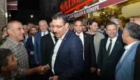 Bakan Tüfenkci Sur esnafını ziyaret etti