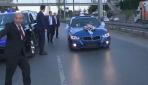 Başbakan Yıldırım düğün konvoyunu durdurdu