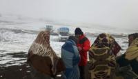 Kar kalınlığı 13 santimetreye ulaştı