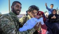 Cerablusa dönen Suriyelilere şefkat eli