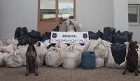 Bingölde 714 kilo uyuşturucu ele geçirildi