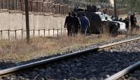 Vanda trene bombalı saldırı