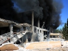 Rejim ve Rus jetleri Halep'i kana buladı
