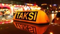 """Antalyada taksicilerden """"kontak kapatma"""" eylemi"""