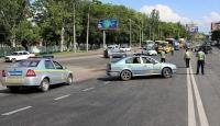 Ukraynada trafik kurallarını ihlal eden sürücü 2 polisi öldürdü