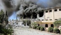 Halepte Rejim ve Rus uçaklarının hava saldırısında öü sayısı 85e yükseldi