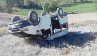 Erzurumda minibüs devrildi: 12 yaralı