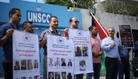 24 Filistinli gazeteci açlık grevine başladı