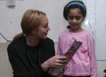 Hollywood yıldızı Lohanın Suriyelileri ziyareti