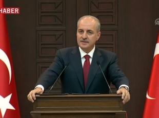 Kurtulmuş: (Fırat Kalkanı Harekatı) Biz orada yaşayan Kürt kardeşlerimizin varlığına karşı değiliz