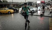 İstanbula yarın için kuvvetli yağış uyarısı