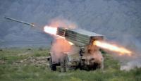 Azerbaycan füze ve topçu birlikleri tatbikat yaptı