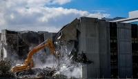 TBMM eski hizmet binasının yıkımı sürüyor