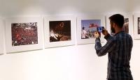 """""""15 Temmuz O Anlar"""" fotoğraf sergisi"""" açıldı"""