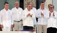 Kolombiyada tarihi anlaşma imzalandı