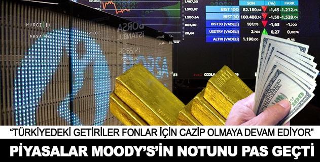 Piyasalar Moodysi pas geçti