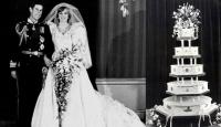 İngiliz Kraliyet çiftinin 35 yıllık düğün pastası açık artırmada