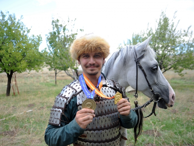 Atlı okçuluğun zirvesinde bir Türk