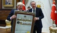 Cumhurbaşkanı ve Başbakan, Johnsonı kabul etti