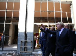 İngiltere Dışişleri Bakanı Boris Johnson TBMMde