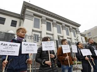 Kievde protesto