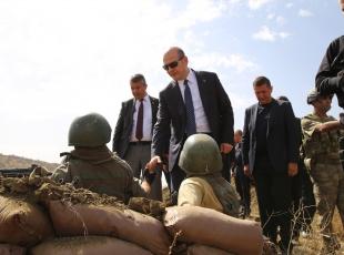 İçişleri Bakanı Soylu, Şırnakta